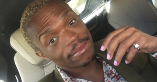 South african choreographer and radio personality somizi mhlongo has two weeks ago he stormed out of a service in grace bible church soweto after a ghanaian bishop dag heward mills fandeluxe Images