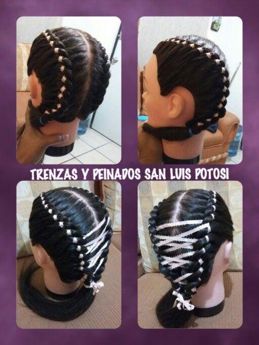 Pin de Trenzas y peinados San Luis Potosí en peinados | Pinterest ...