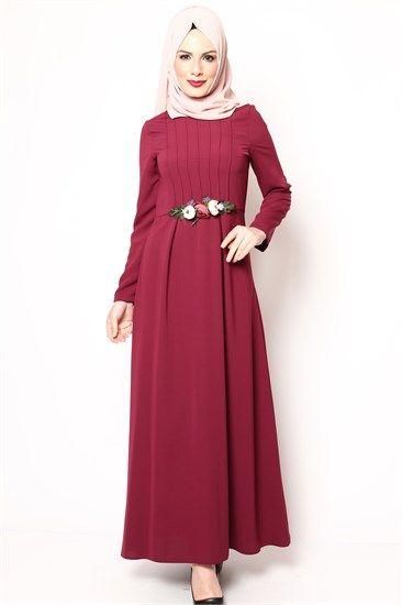 Tesettur Elbise Tesettur Abiye Tesettur Elbise Buyuk Beden Ve Tesettur Elbise Genc Modellerinde Diger Tesettur Giyim Urunlerde Fashion Dresses High Neck Dress
