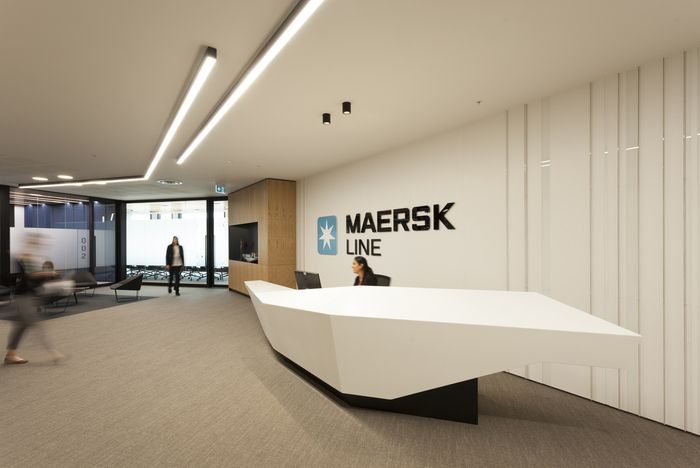 Office tour maersk line offices auckland