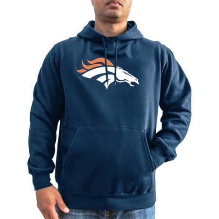 premium selection 1e0e3 d3c6f Men's NFL Denver Broncos Hoodie - Walmart.com   GO DENVER ...