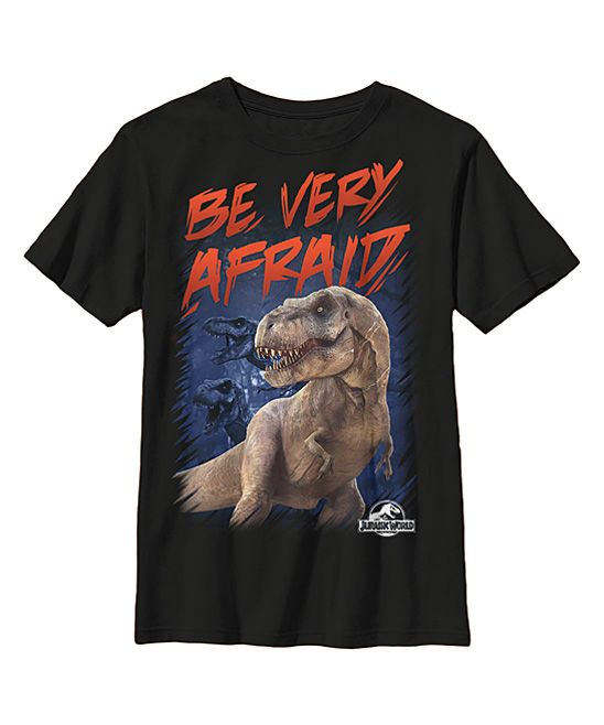 59b9aef6d507 Jurassic World 'Be Very Afraid' Tee - Youth | Products | Jurassic ...