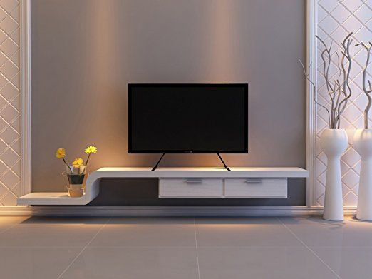 WALI Table Top TV Stand For Most 22 65 LCD Flat Screen