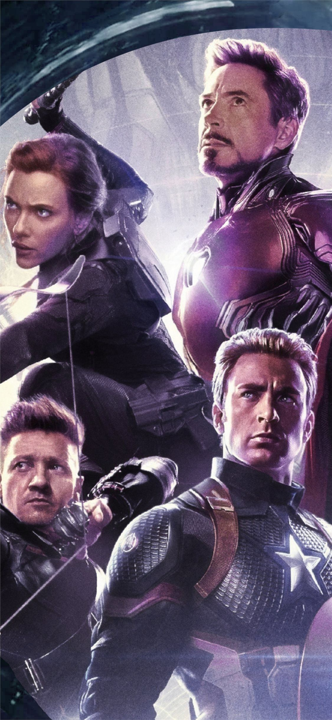 4k 2019 avengers endgame original six iPhone 11 Wallpapers