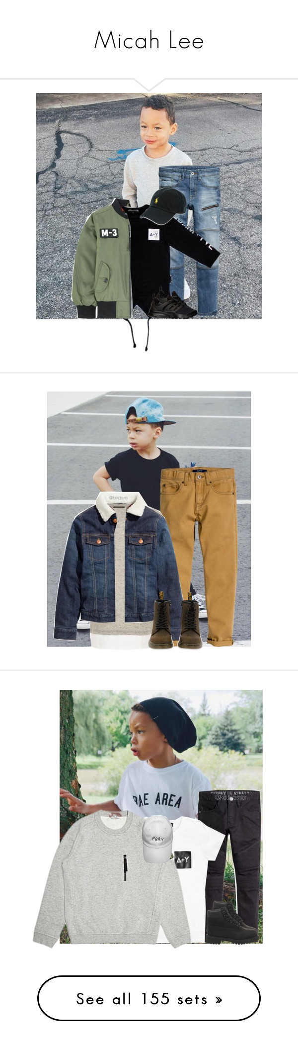 """""""Micah Lee"""" by kiddiefashion ❤ liked on Polyvore featuring Polo Ralph Lauren, Dr. Martens, Timberland, Scotch & Soda, Barneys New York, adidas, Loungefly, New Balance, Ralph Lauren and Haus of JR"""