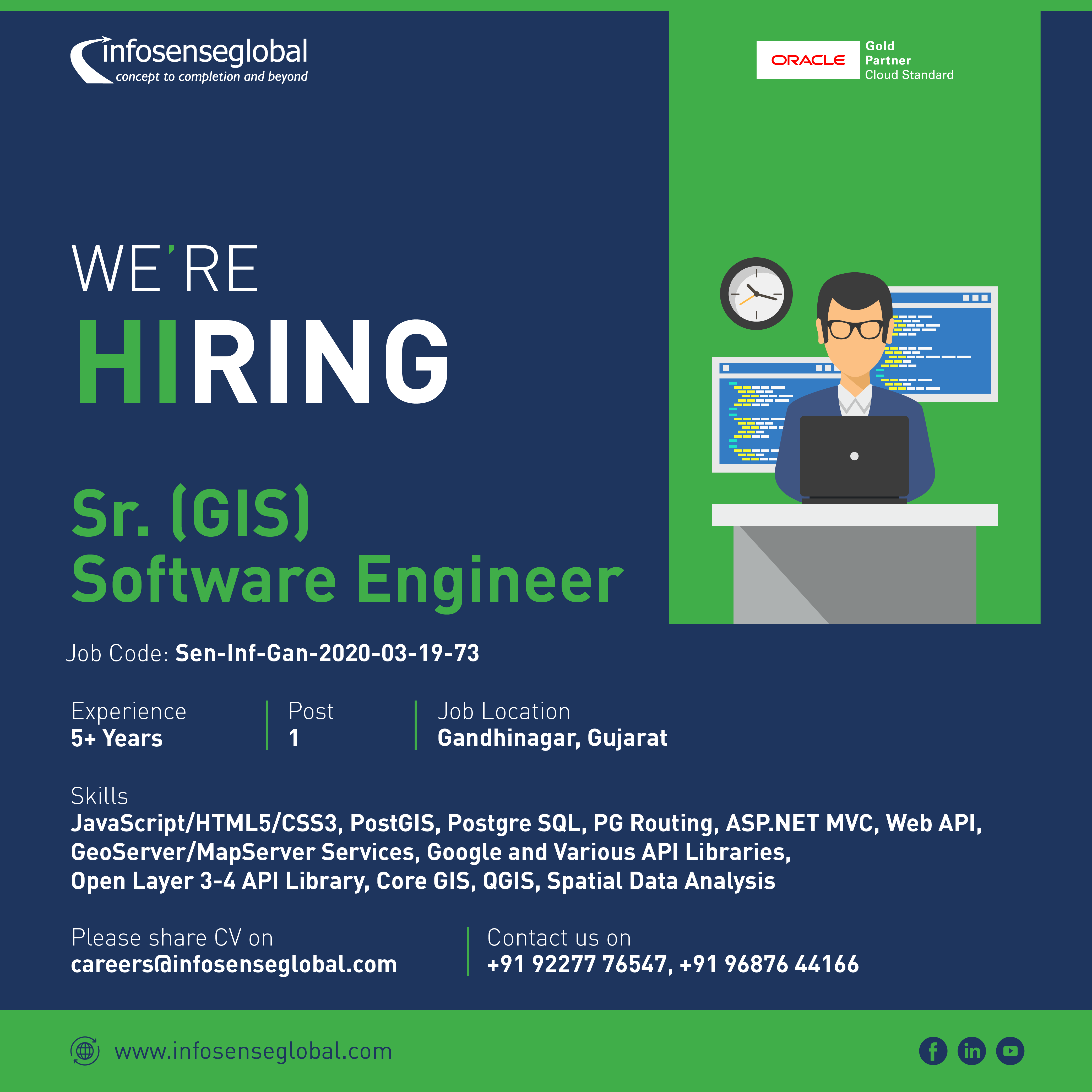 We Re Hiring For The Following Position Software Engineer Job Opening Job