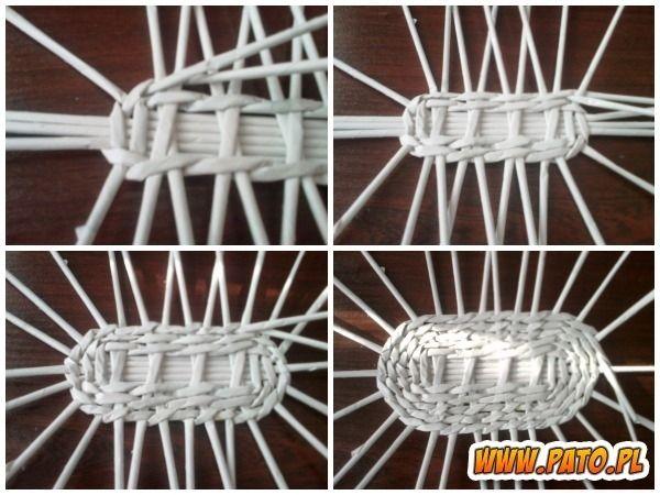Мастер-класс по плетению корзинки из газетных трубочек (28) (600x450, 184Kb)