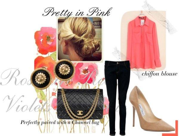 """Pretty in Pink"" by erabbott on Polyvore"