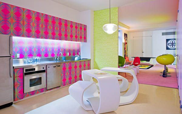 Great new york apartment with bright colors by karim rashid my desired home