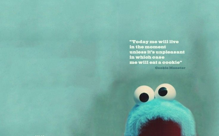 Cookie Monster Quote Hd Wallpaper Desktop Background Humor