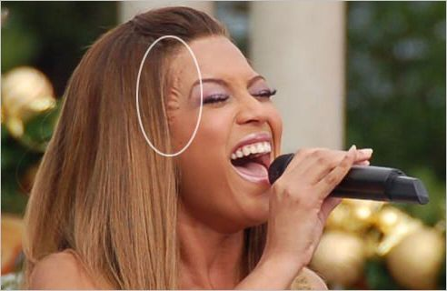 beyonce knowles plastic surgery pictures | Beyonce – plastic surgery or wig?