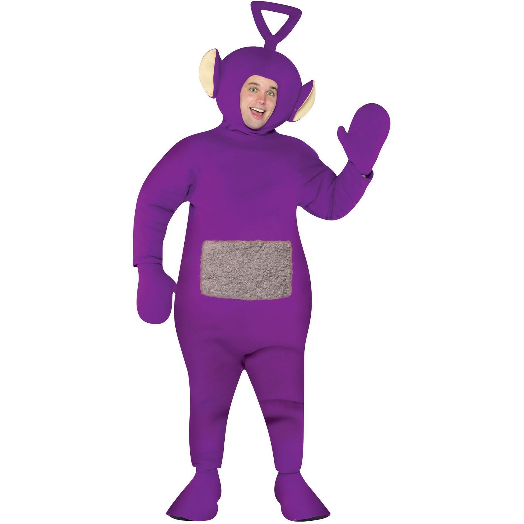 Official Adult TELETUBBIES Laa Laa Dipsy Po Tinky Winky TV Fancy Dress Costume