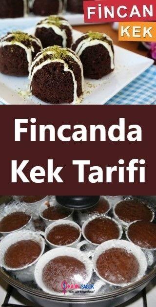 Fincanda Kek Tarifi Tencerede #cupcakesrezepte