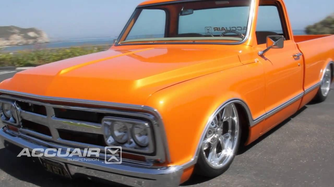 Accuair On Scott Lawrence S 69 Gmc C 10 With Images Chevy