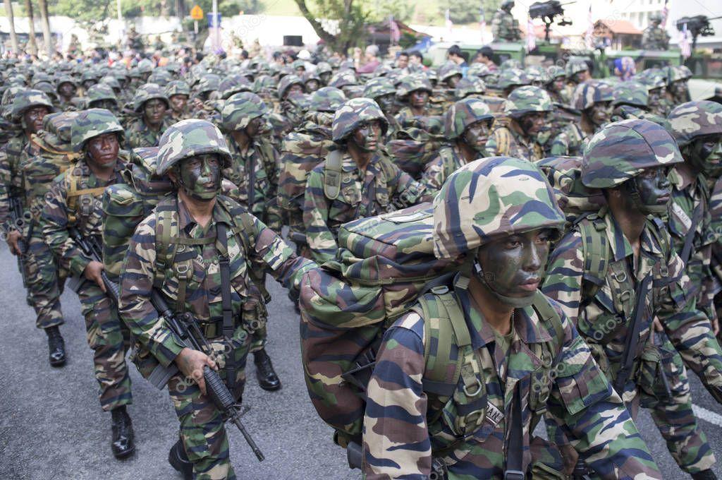 Kuala Lampur Merdeka Day National Day Malaysia Army