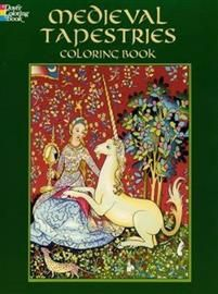 Medieval Tapestries Coloring Book