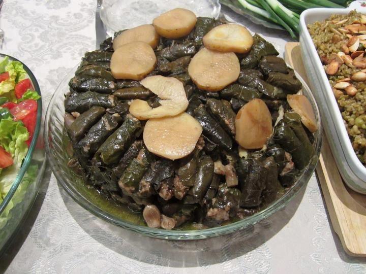 Stuffed Grape Leaves ورق عنب محشي Mediterranean Cuisine Arabic Food Cooking