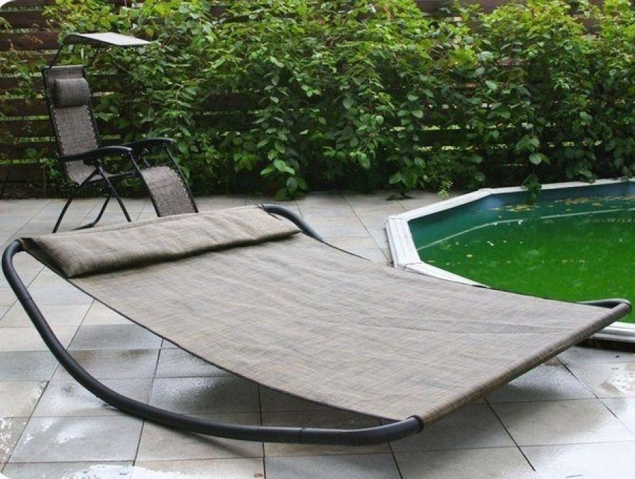 sun lounger for the garden