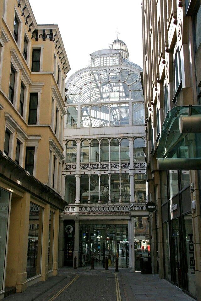 Manchester's grade ll listed buildings, Barton Arcade, St. Ann Square.