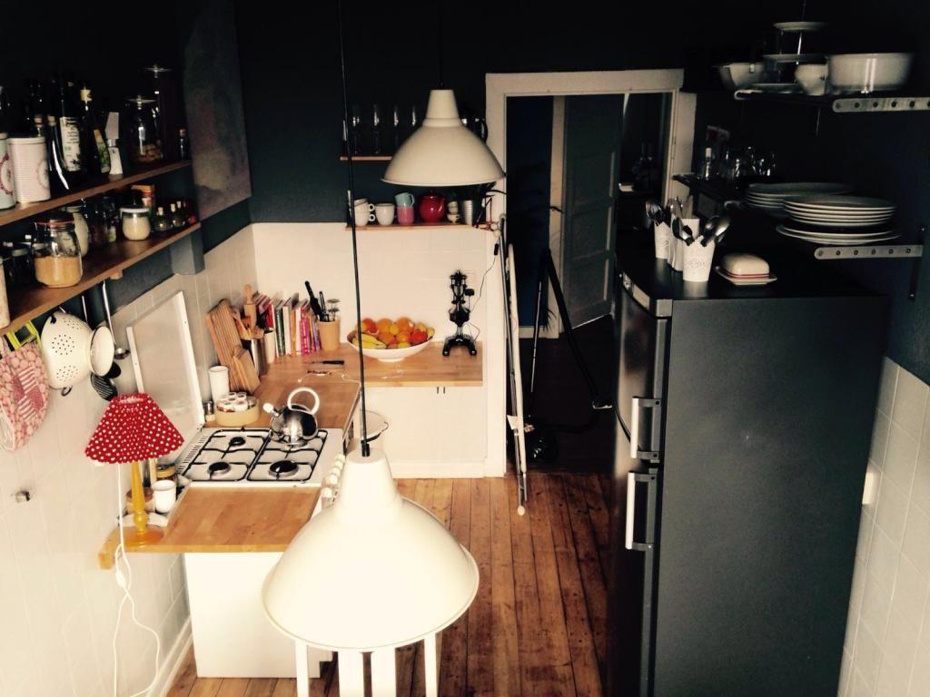 Kleine, aber feine Küche in Hamburger WG. WG-Zimmer in Hamburg Hamm ...