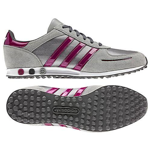 Women's Adidas Originals LA Trainer Sleek Shift Grey