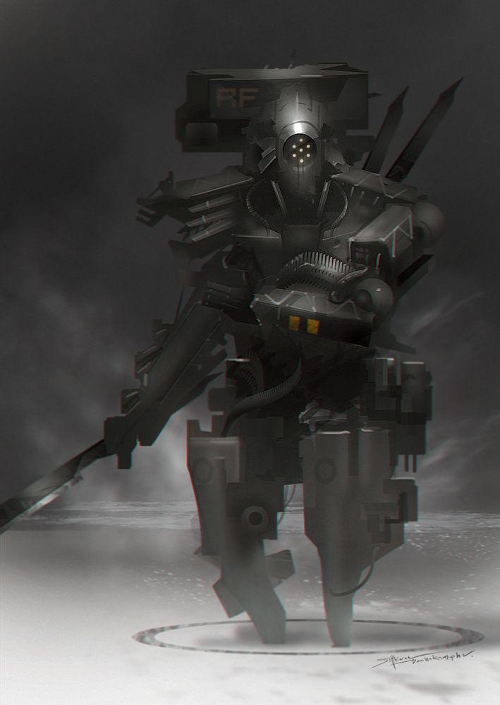 robot science fiction concept - photo #38