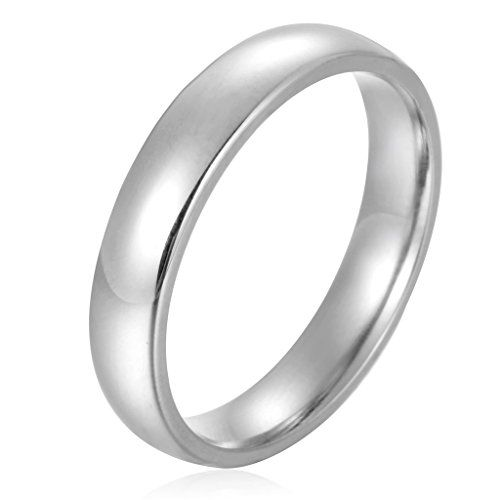 Besteel 8MM Tungsten Rings for Men Matte Finish Beveled Grooved Wedding Band Ring Black and Blue