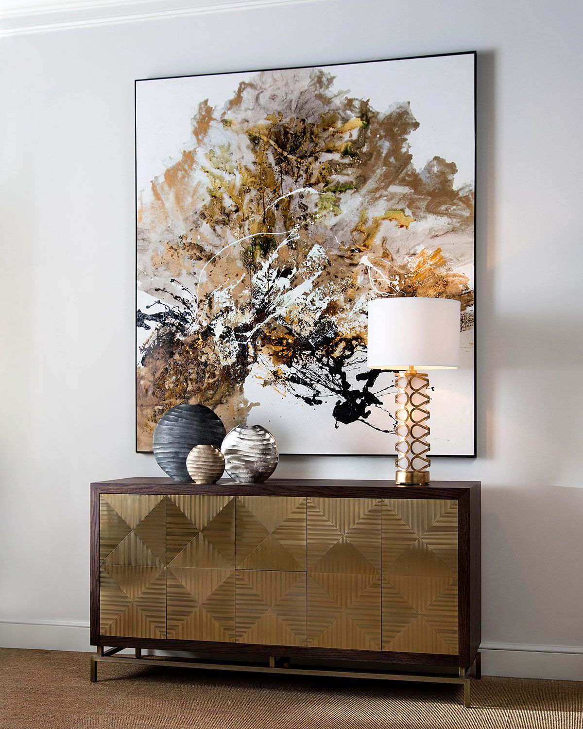 Toledo Credenza In 2019 Make A Statement Scene Stealing Furniture