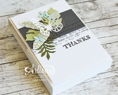 Botanical Blooms, Helping me Grow, Box with cards, Botanical Builder Framelits ~Inge Groot