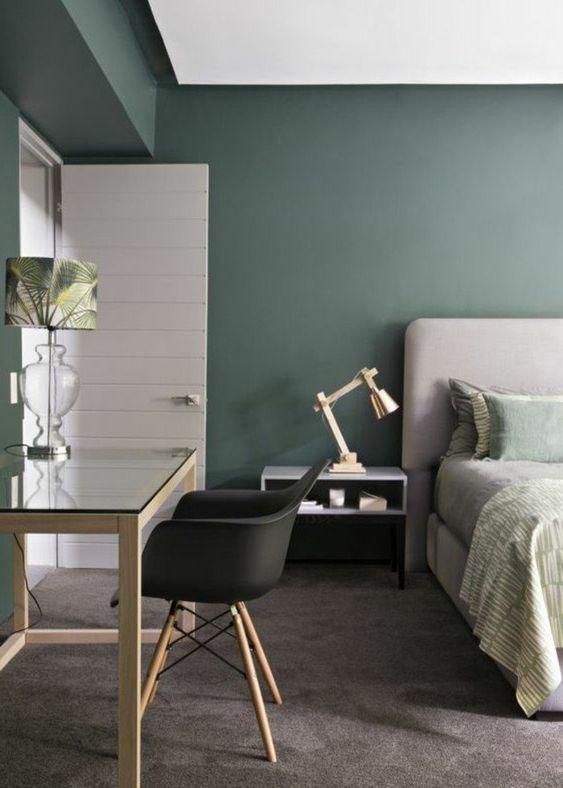Hellgrauer Schlafzimmerteppich Apartment Decor Quartos