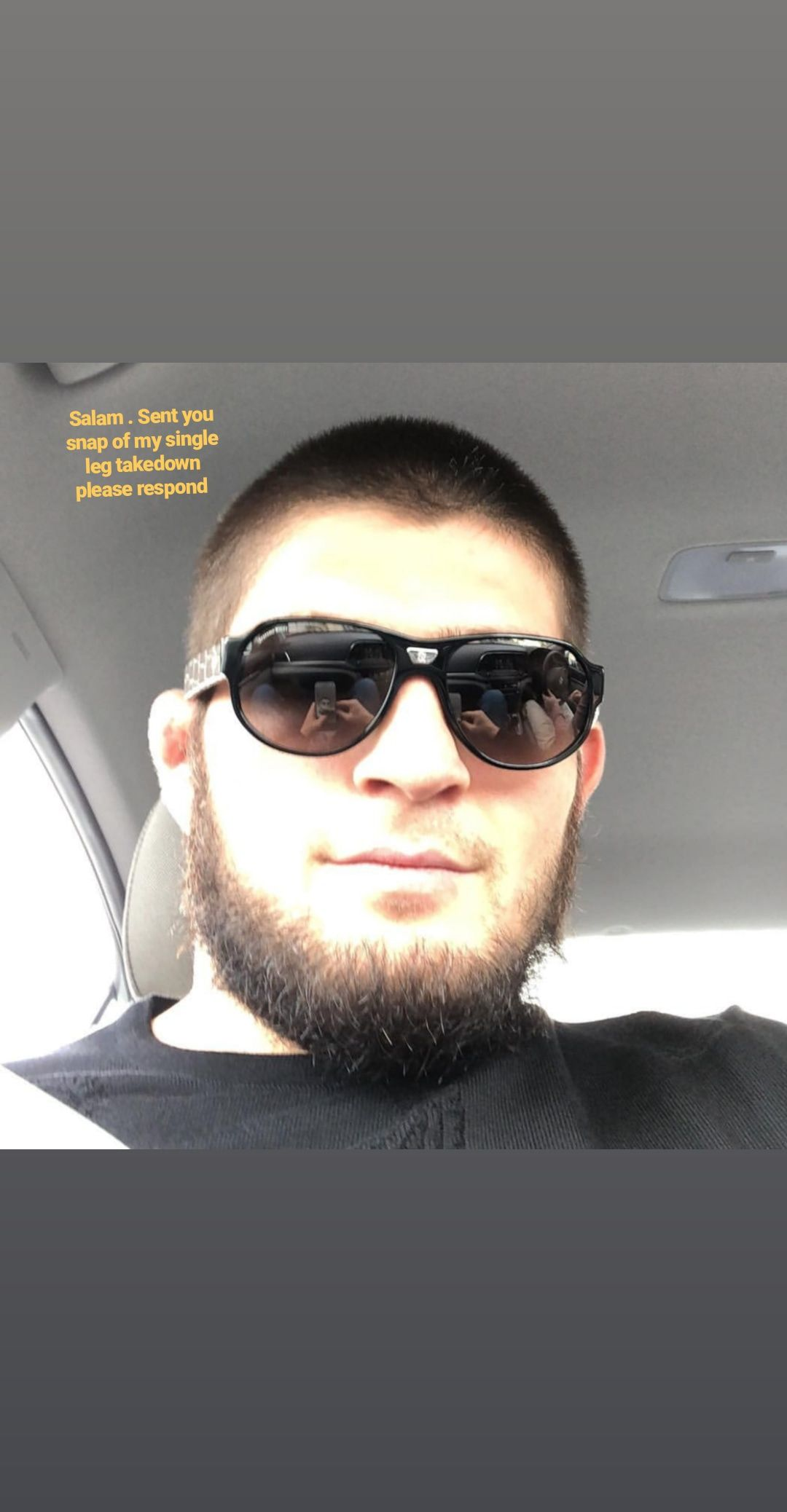 Khabib getting left on seen music indieartist chicago
