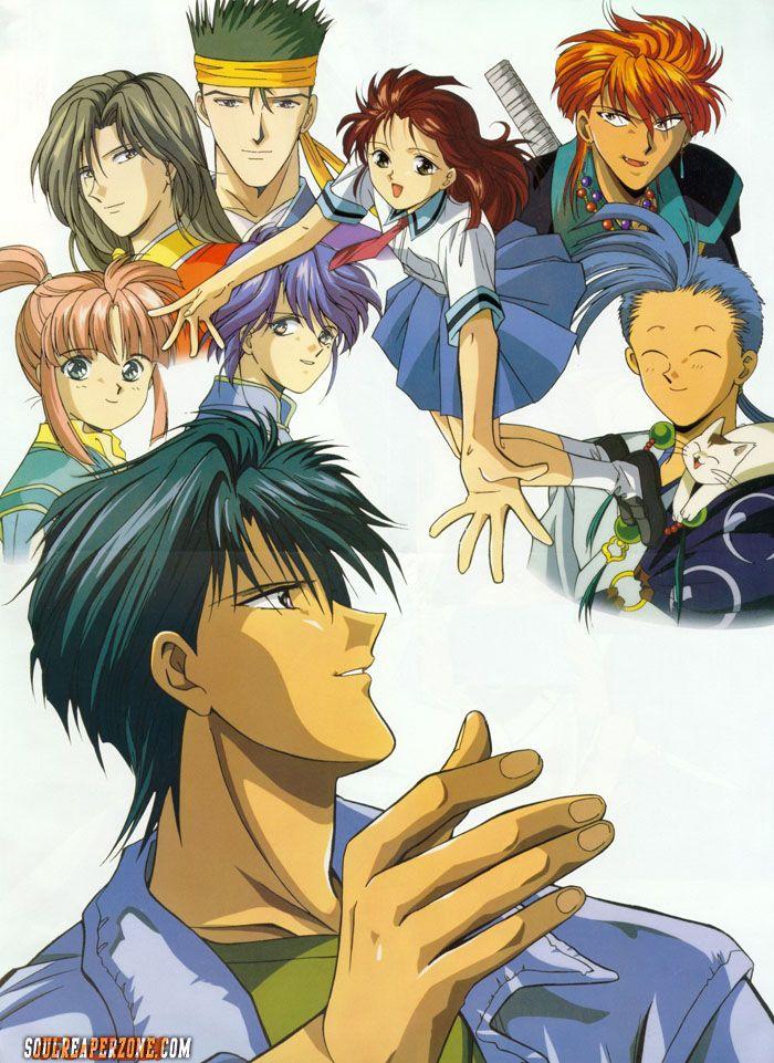 Fushigi Yuugi OVA 2 DVD Dual Audio Anime, Bishounen
