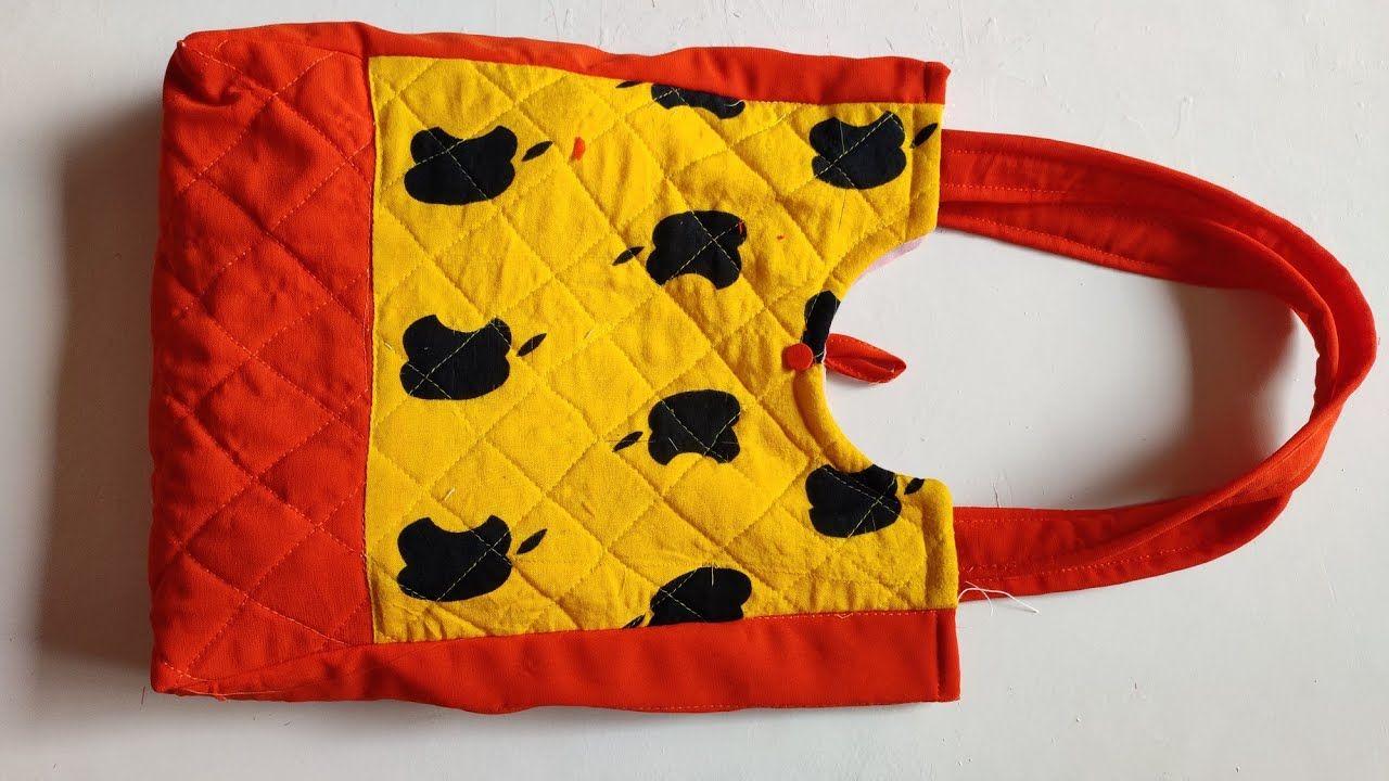 30 मिनट में बनाऐ easy handmade  bag banane ka tarika ll
