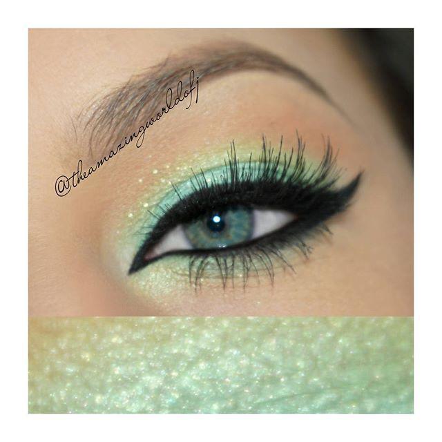 Seafoam Green Eyeshadow Green Eyeshadow Look Prom Eye Makeup