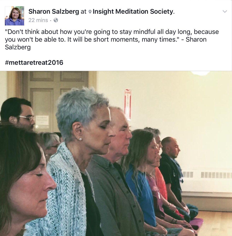 Sharon Salzberg Mindfulness