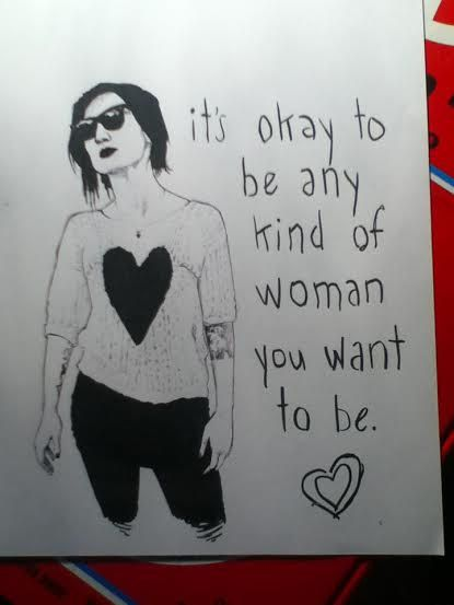 Lindsey Way Feminismprint by ChemicalPencils on Etsy