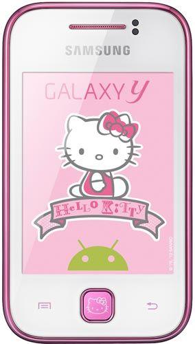 Telefono Movil Samsung S5360 Galaxy Y Hello Kitty Libre Moviles