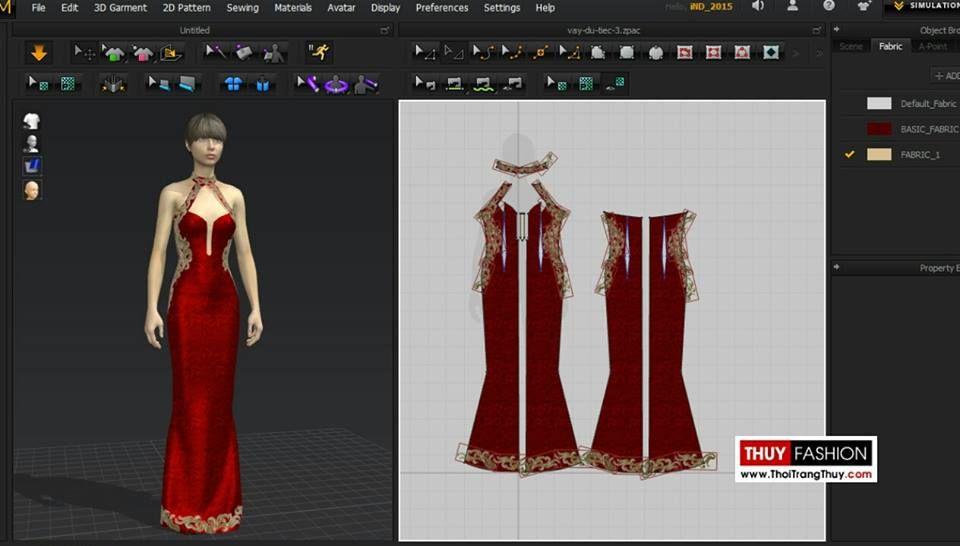 Ứng dụng phần mềm thiết kế thời trang 3D dựng mẫu ren trên váy dự tiệc tạo điểm nhấn Video thiết kế mẫu Liên hệ đặt may Thiết kế – May đo Thời Trang Thuỷ A: 32 Hạ Lý, Hải Phòng M: 0984004193 W: http://thoitrangthuy.com F: https://www.facebook.com/thoitrangthuyhp