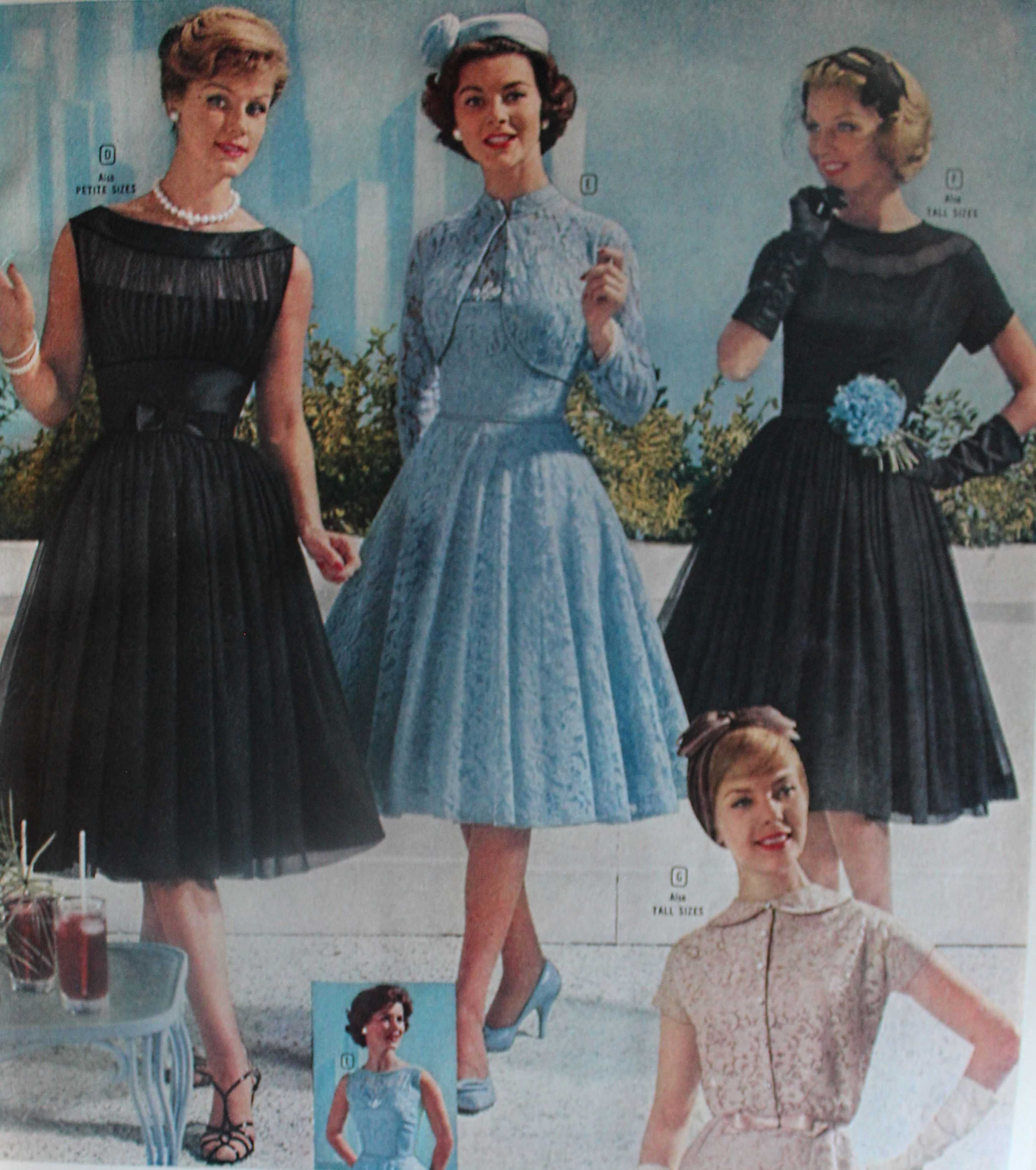 1960s Evening Dresses, Bridesmaids, Mothers Gowns