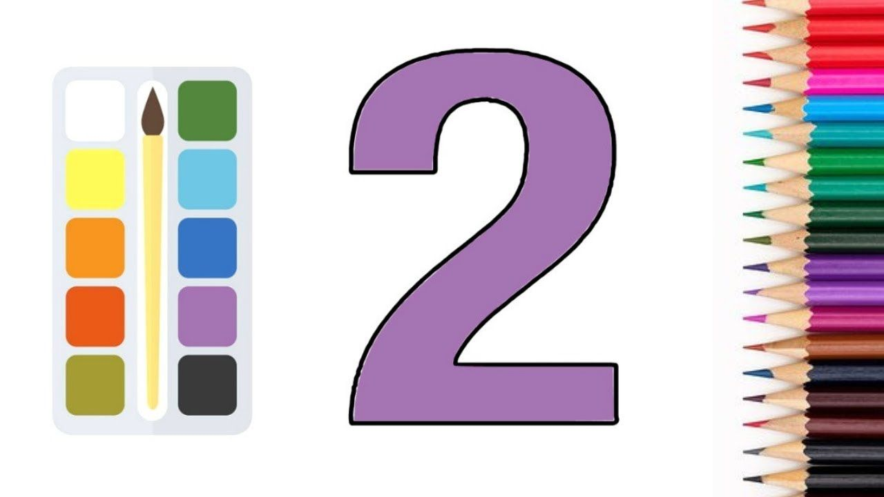 Glitter Number Coloring Pages Learn Colors Learn Numbers For Kids Numbers For Kids Learning Numbers Learning Colors