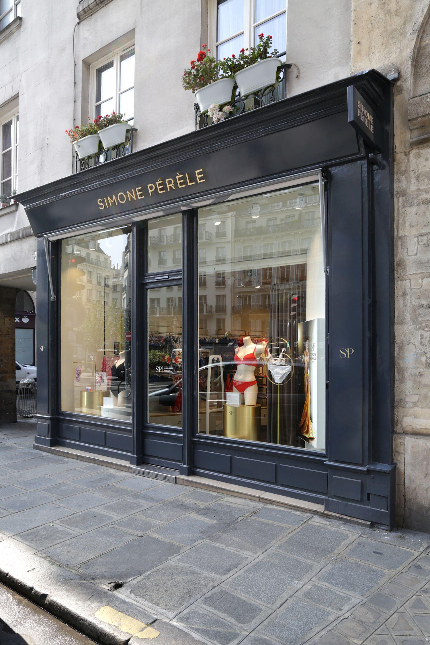 Simone Perele Amenagement Boutique Agence Jeff Van Dyck Simone