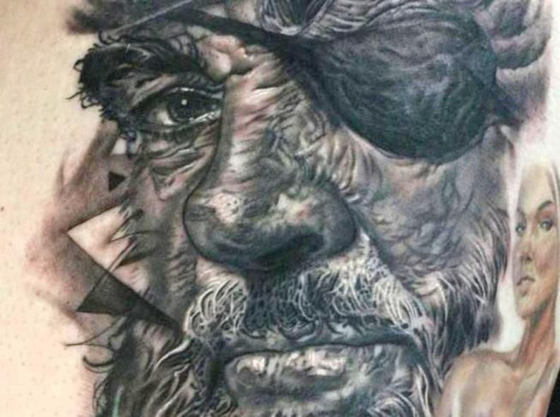30 excelentes tatuajes en black and grey 8