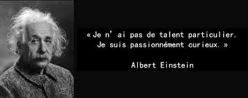 Citation Einstein Curiosite Intelligence Emotionnelle