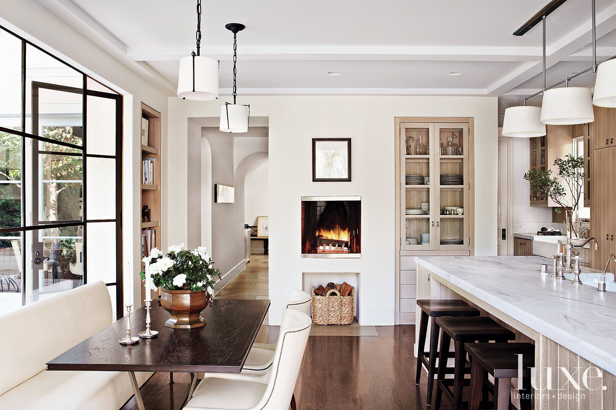 Best 50 Sleek White Kitchens Home Romantic Kitchen Kitchen 400 x 300