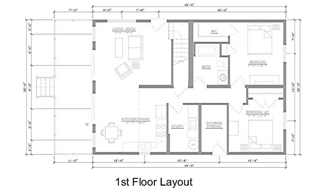 East Point Villas Middle Bass Island Dining Room Layout Dining Design Floor Layout