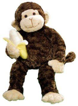 Amazon Com Gund Mambo Monkey Stuffed Animal Toy Toys Games