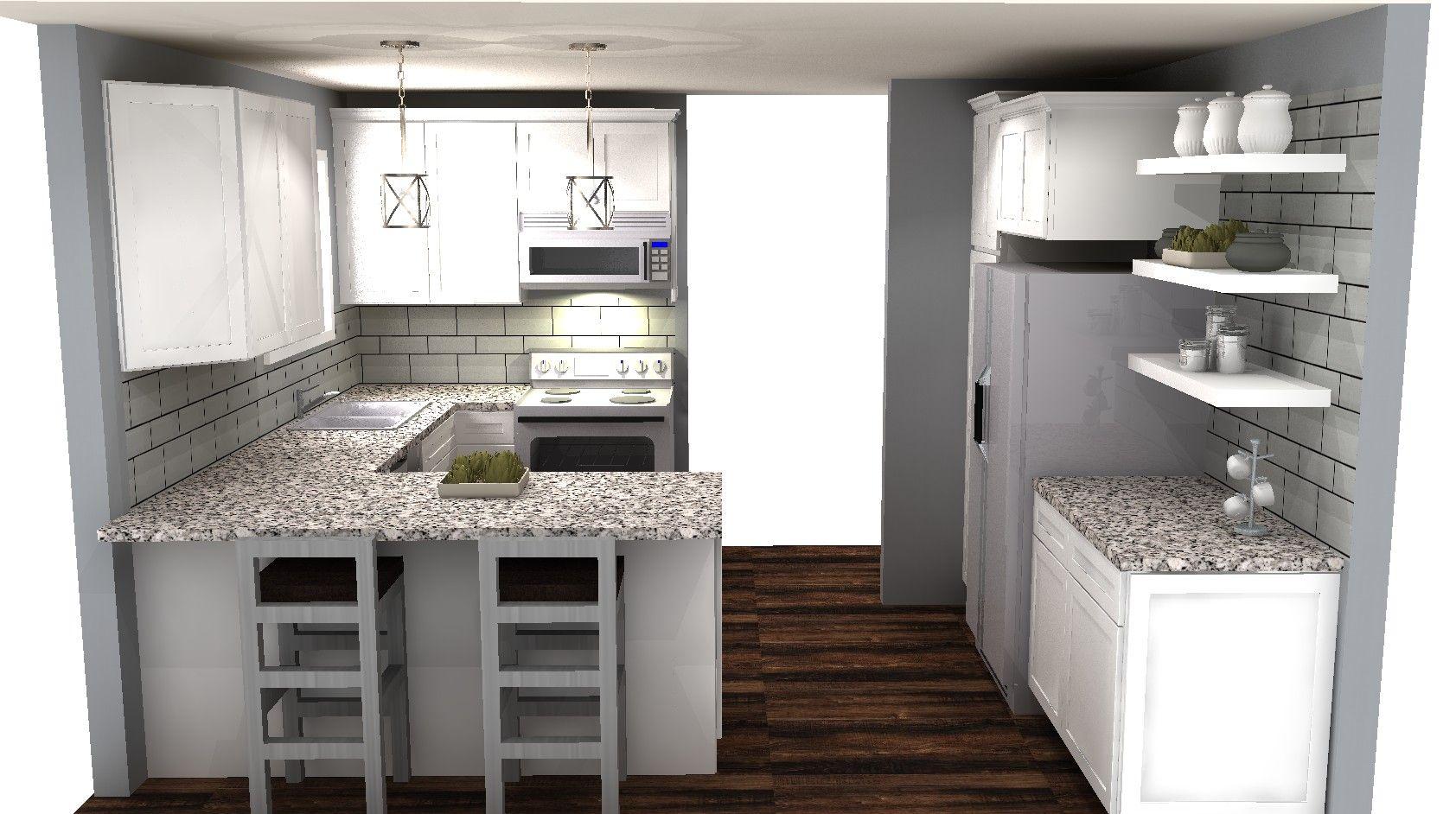 Whitehouse Kitchen redesign | Mela\'s Kitchen & Bath Designs ...