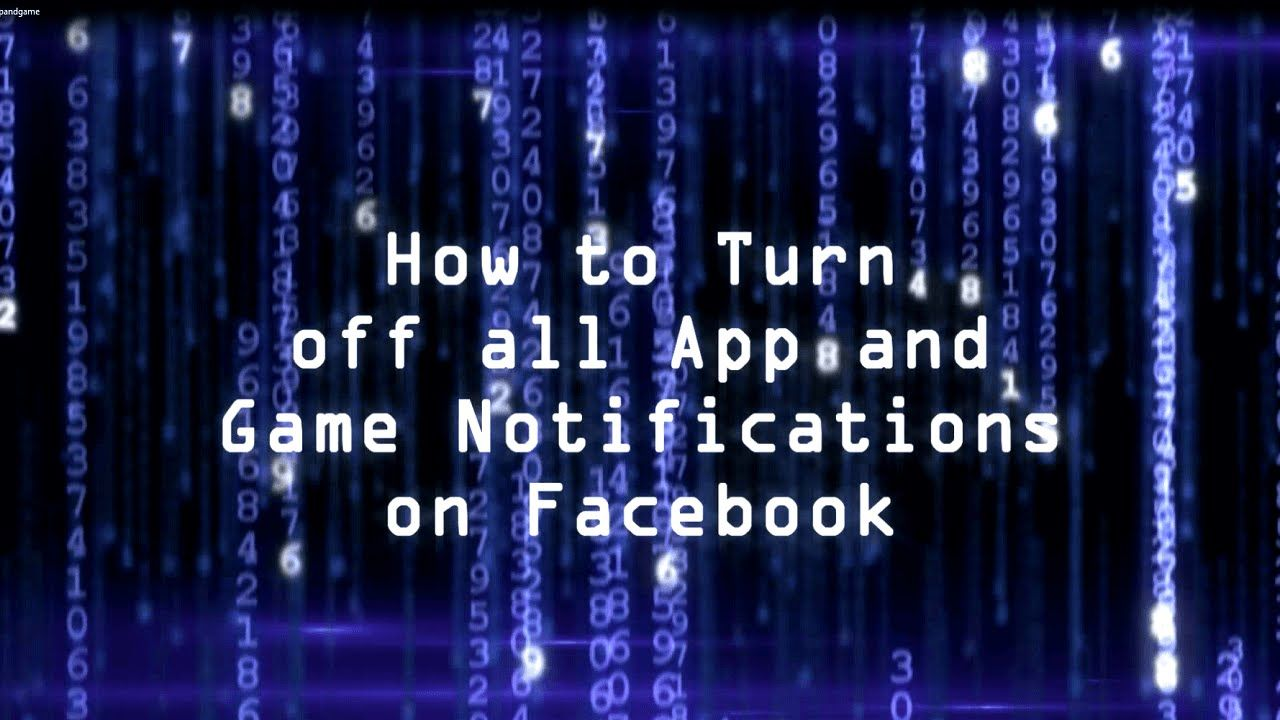 How to turn off all app and game invitations on facebook