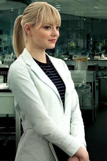 Emma Stone Blonde Wallpaper Desktop Backgrounds Amazing Spiderman