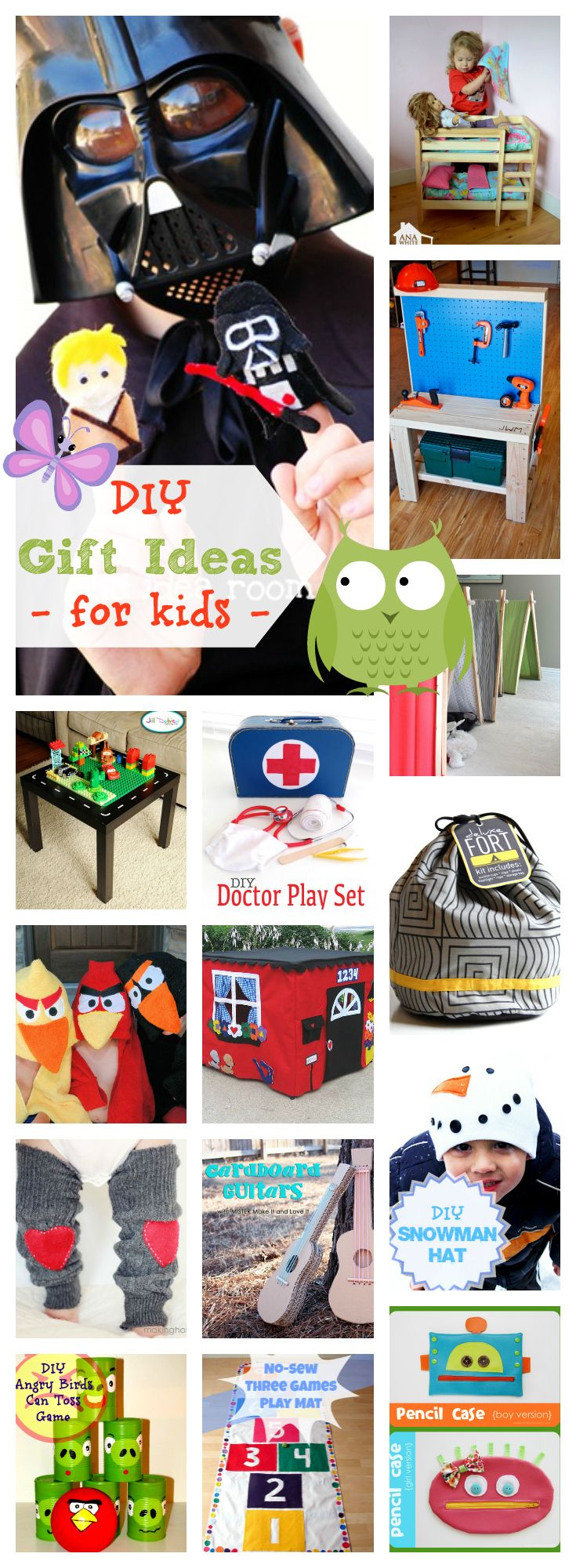 75 awesome diy gifts for kids handpicked by a 10 year for Things to get a country boy for christmas